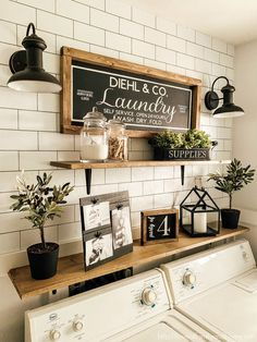 7 Genius Ways to Bring Storage into a Small Laundry Room! Pack a lot of style and storage into a small space with these inspiring laundry room storage ideas. ideas for small spaces laundry Seven Genius Ways to Bring Storage into a Small Laundry Room! Rustic Laundry Rooms, Laundry Decor, Small Laundry Rooms, Laundry Room Organization, Laundry Room Design, Laundry In Bathroom, Laundry Storage, Laundry Room Decorations, Organization Ideas