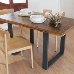 34 mejores imágenes de Muebles madera reciclada | Wood table tops ...
