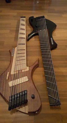 Claas guitars 7 string bass