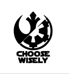 Items similar to Choose wisely vinyl decal-vinyl sticker-yeti cup decal-star wars decal-phone case decal-wall decal-car decal-window decal-laptop decal-jedi- on Etsy Simbolos Star Wars, Star Wars Facts, Star Wars Rebels, Star Wars Tattoo, Star Tattoos, Tatoos, Sleeve Tattoos, Star Wars Quotes, Star Wars Humor
