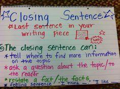 conclude essay last sentence