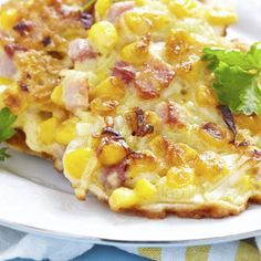 Ham And Corn Fritters Recipe from Grandmother's Kitchen
