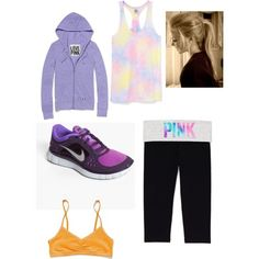 Buy Work at Wish - Shopping Made Fun Cute Workout Outfits, Workout Attire, Sporty Outfits, Pink Outfits, Workout Wear, Love Pink Clothes, Nike Shoes Cheap, Cheap Nike, Nike Gear