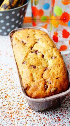 Banana Bread, Cake aux bananes & pépites de chocolat