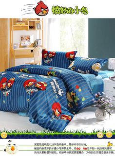 Angry birds 4 pieces bedding sets x [8011013] - US$72.00 : IBeddings Online Store