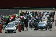 Starting grid Race 1