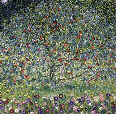 Gustav Klimt Apple Tree I painting is shipped worldwide,including stretched canvas and framed art.This Gustav Klimt Apple Tree I painting is available at custom size. Claude Monet, Art Klimt, Toile Photo, Oil Painting Reproductions, Art Graphique, Apple Tree, Tree Art, Oeuvre D'art, Les Oeuvres