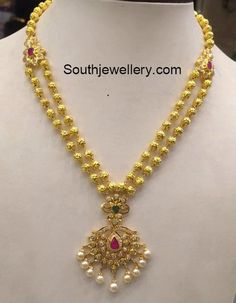 32 Grams Antique Gold Necklace