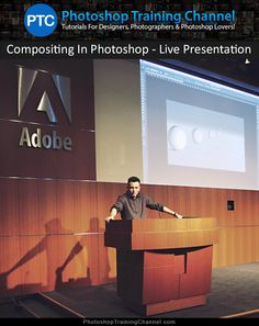 Presentation on Compositing In Photoshop, by Jesús Ramirez, for the Create Cloud User Group.