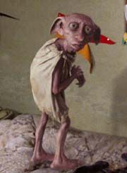 Dobby the house elf from Harry Potter by JK Rowling… My favorite character.