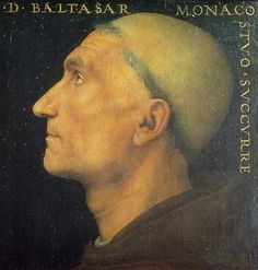 Potrait of Don Baldassarre - Pietro Perugino