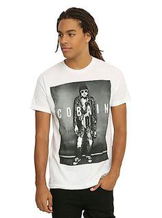 Kurt Cobain Leopard Jacket T-Shirt,