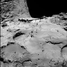 15 Mejores fotos de la sonda Rosetta el dia de su despedida