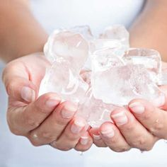 Do THIS with ice cubes or an icepack to stay cool while you work out in the heat