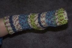 Tube-sock pattern to fit babies and children.
