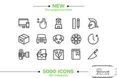 5000 Icons