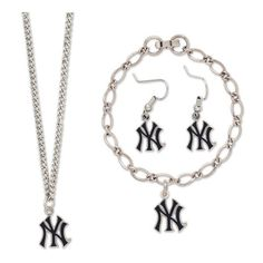 New York Yankees WinCraft Jewelry Gift Set ($28) ❤ liked on Polyvore featuring jewelry, multi and bracelet jewelry