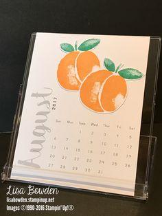 August 2017 CD Calendar