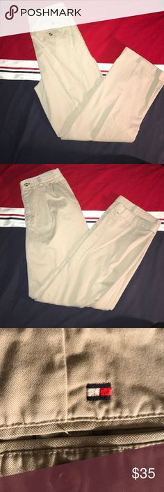 (Tommy Hilfiger) Men's pleated dress pants Tommy Hilfiger men's dress pants. Clean cool office official! 10/10 Tommy Hilfiger Pants Dress