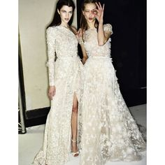 Robe de mariee haute couture Elie Saab