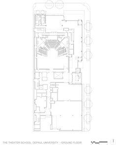 Pelli Clarke Pelli Architects, Jeff Goldberg/ESTO · The Theatre School · Divisare