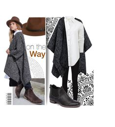 """""""#OneTheWay"""" by banana0307 ❤ liked on Polyvore featuring Sole Society, Frame Denim, rag & bone and Mollini"""