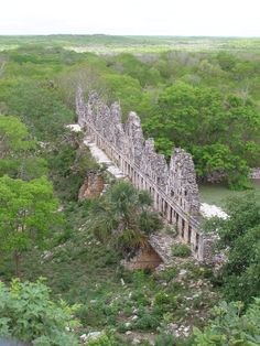 Uxmal, Yucatan, Mexico - House of the Doves ruins