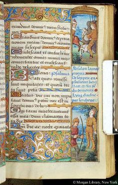 Book of Hours, MS H.5 fol. 89r - Images from Medieval and Renaissance Manuscripts - The Morgan Library & Museum