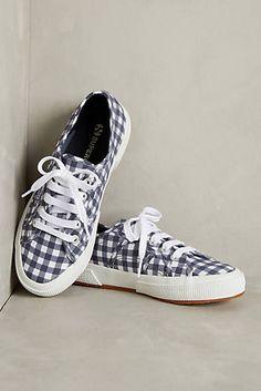 Superga Gingham Calico Sneakers