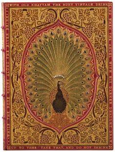 Author: Omar Khayyam Title: Rubáiyát of Omar Khayyám. Edition: Third edition. Published: London: Bernard Quaritch, 1872. Location: Rare Books (Ex) Call number: PK6513 .A1 1872 Spine height: 23 cm