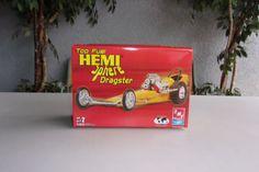 Top Fuel Hemi Sphere Dragster Model Kit AMT Ertl 1/25 Vintage Drag Racing $14.99