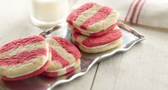 Divers biscuits pour échanges de cadeaux gourmands.