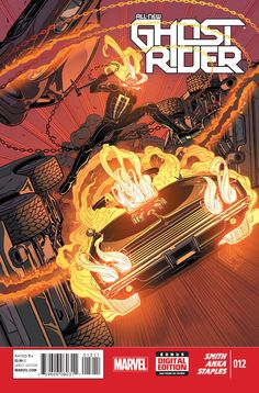 All-New Ghost Rider #12 - Great Power Part 2 May 2015. The final issue leads into Ghost Racers.