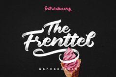 The Frenttel Font by Hindia Studio on @creativemarket