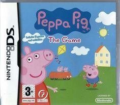 Nintendo DS Peppa Pig: The Game  (plays 3ds in 2D)