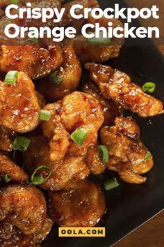 Crispy Crockpot Orange Chicken Every night can be takeout night with this delicious orange chicken recipe. And even better, this is a crockpot version of orange chicken, so you can set it and forget it for maximum ease and delicious flavor! Crock Pot Recipes, Crockpot Dishes, Crock Pot Cooking, Slow Cooker Recipes, Dinner Crockpot, Crockpot Recipes Asian, Crockpot Recipes For Summer, Chicken Crockpot Recipe, Orange Chicken Recipe Slow Cooker