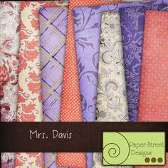 mrs. davis  digital papers