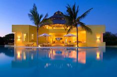Casa Sol De Oriente, located in Costa Careyes, Mexico, is a luxury retreat built in a pool.