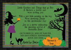 Halloween Baby Shower Invitations Disney Baby When Im A Mom - Halloween baby shower invitations