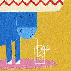 detail from our 'Cool Donkey' Birthday Card