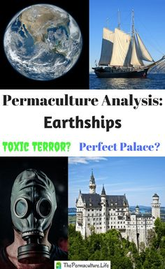 Here's the first post in a series on permaculture analysis. Today I'm analyzing Earthships according to permaculture ideas. Are they the perfect sustainable palace that is claimed? Or are they expensive toxic wastes of time and money? Read on to hear my t Permaculture Principles, Permaculture Design, Rose Bush Care, Scale Insects, Water Management, Forest Garden, Aquaponics System, Earthship, Drying Herbs