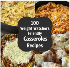 100 Weight Watchers Casseroles Recipes With Smartpoints