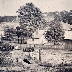 Historian Stephen Davis estimates that Union guns fired more than 100,000 shells into Atlanta during the summer of 1864.