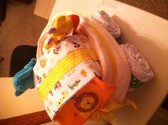 Back/side of diaper baby carraige