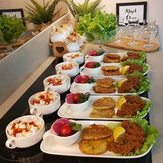 Discover recipes, home ideas, style inspiration and other ideas to try. Food Platters, Cafe Food, Turkish Recipes, Dinner Dishes, Food Presentation, Perfect Food, Creative Food, Food Design, Food Items