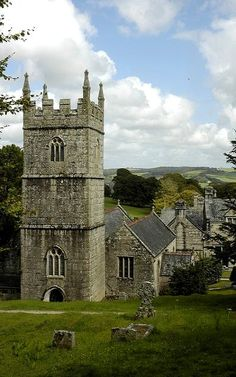 Lanhydrock church, Cornwall, Lanhydrock, England Photo by Paul Stainthorp England And Scotland, England Uk, Devon And Cornwall, Cathedral Church, Old Churches, Church Building, Place Of Worship, English Countryside, Old Buildings