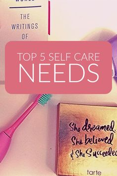 Everything you need to care for yourself!