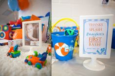 Ideas for a water birthday party