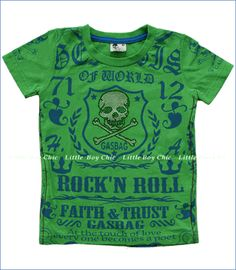 Gasbag, Rock Tee in Green
