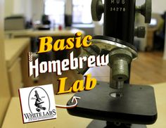 Tips from White Labs founder Dr. Chris White on setting up a basic homebrew yeast lab for capturing, culturing and testing your home brewery. Homebrew Recipes, Beer Recipes, Brew Haha, Vodka, Brew Your Own Beer, Beer Brewing Kits, Home Brewery, Home Brewing Equipment, Alcohol